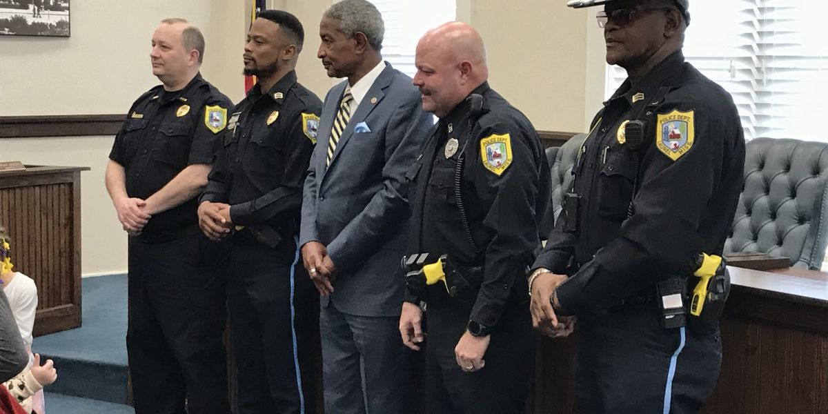 Former Jones sheriff candidate sworn in as LPD officer