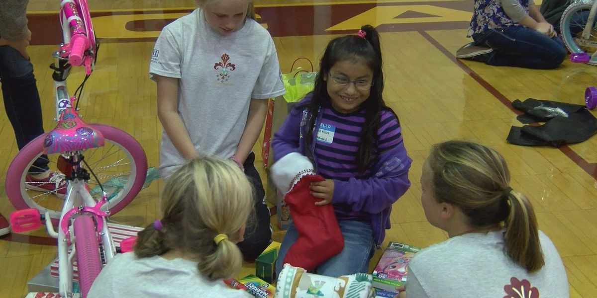 Jones County FCA helps local children have a Merry Christmas