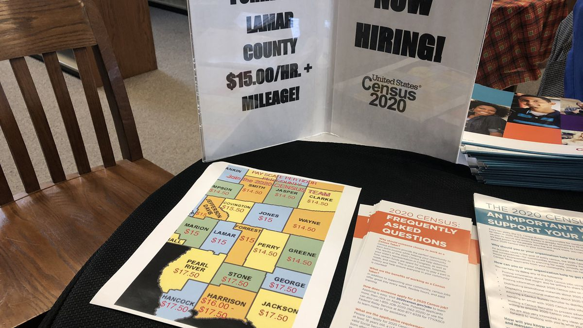 U.S. Census Bureau holds job fair in Oak Grove
