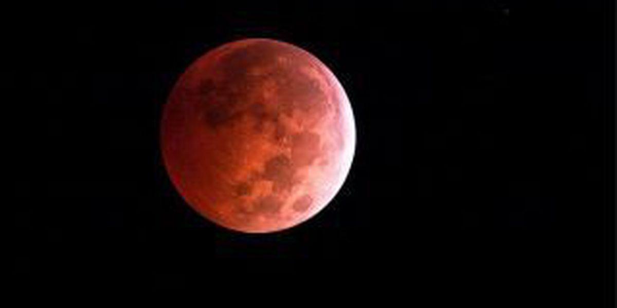 Tonight's rare supermoon eclipse