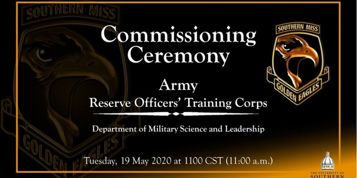 WATCH: USM Army ROTC holds virtual commissioning ceremony