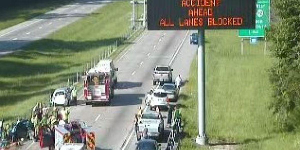 ALERT: Traffic blocked on I-59 in Forrest County
