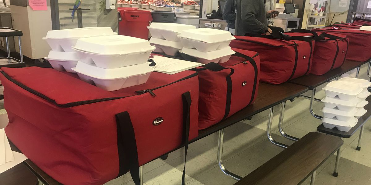 Richton School District delivering meals to homebound students