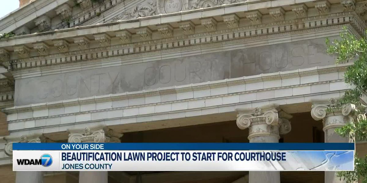 Beautification Lawn Project to start for Jones County Courthouse