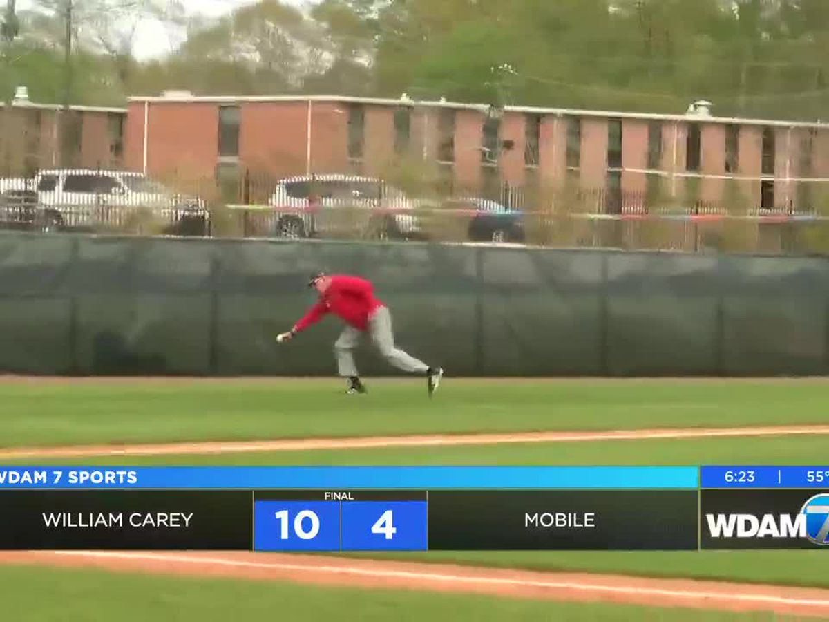 William Carey takes series over Mobile