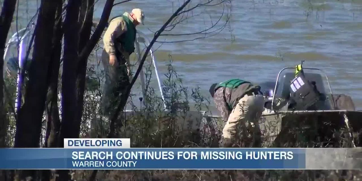 Search continues for missing duck hunters nearly 10 weeks later
