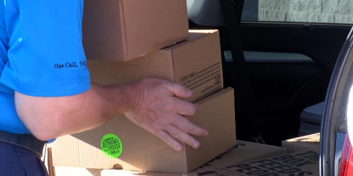 Richard Schwartz & Associates donates food boxes to Extra Table