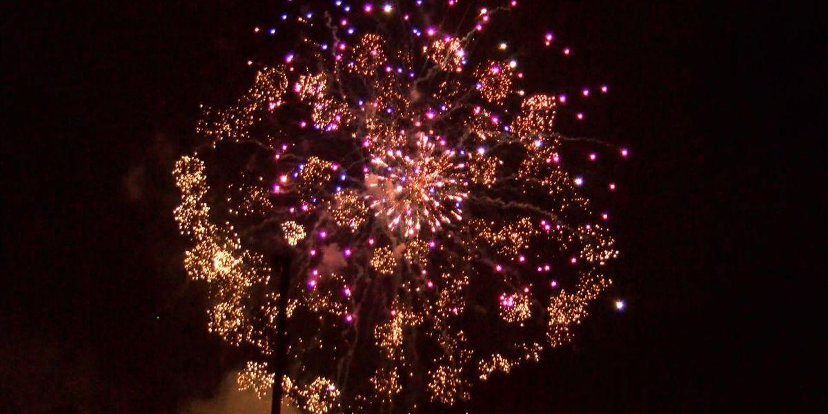 Fourth of July fireworks shows around Pine Belt