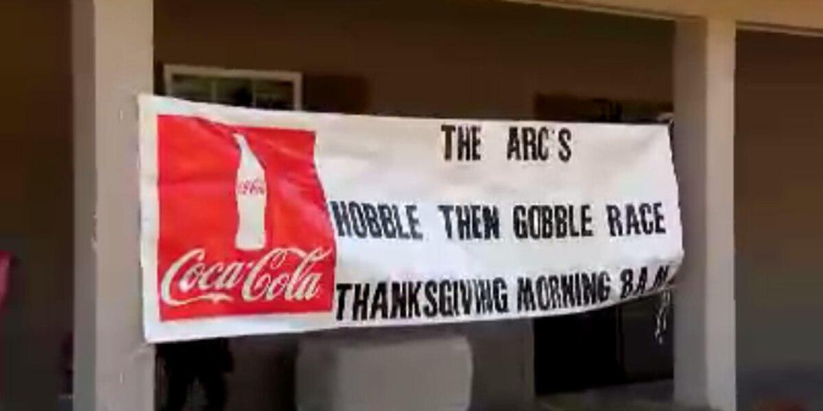 'Hobble then Gobble' race raises funds for Arc