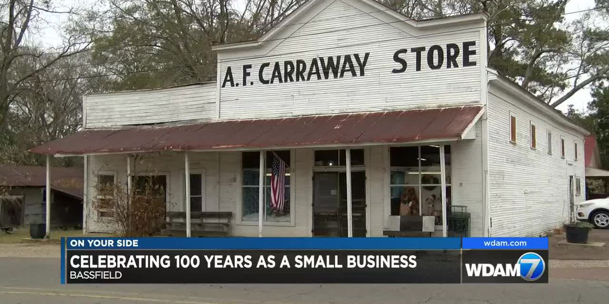 100-year-old Bassfield store celebrates Small Business Saturday