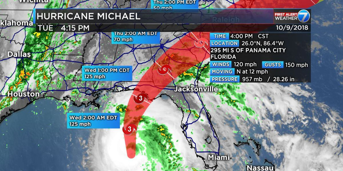 Hurricane Michael projected to cause $30B in damage