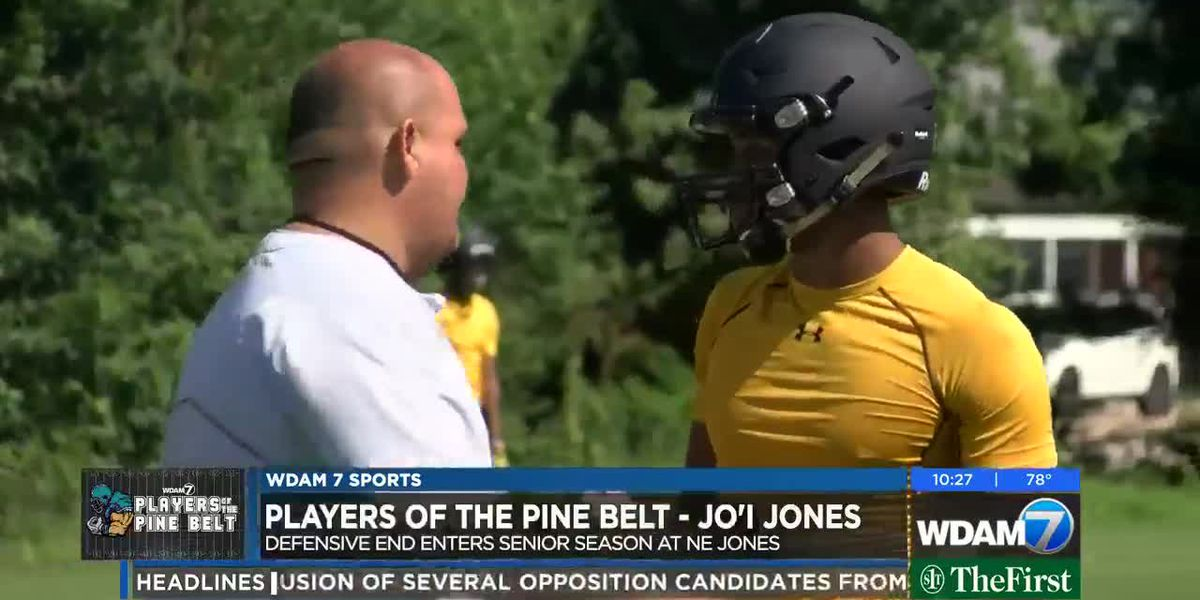 Player of the Pine Belt: Jones ready for football finale with Tigers