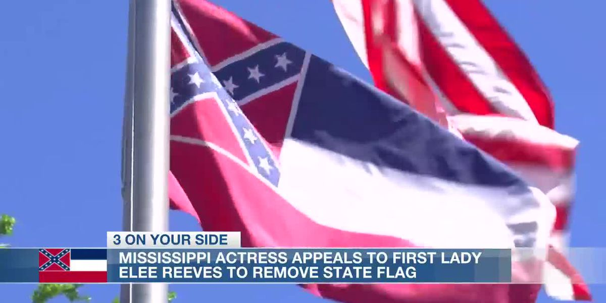 Miss. actress appeals to First Lady Elee Reeves to change state flag