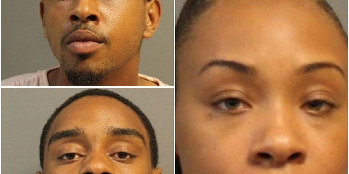 Three charged in connection to Hub City shooting