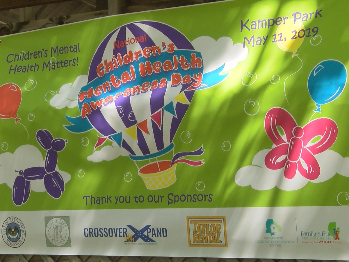 Kamper Park hosts Children's Mental Health Awareness Day