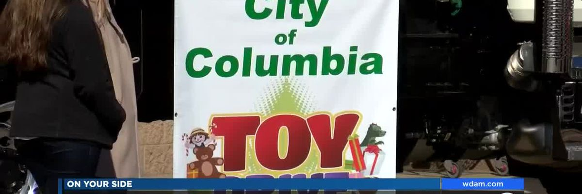 Columbia city employees collect Christmas toys for families in need