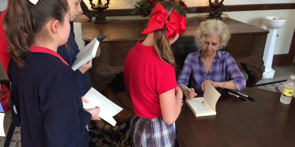 Children's author DiCamillo meets readers at 50th USM book fest