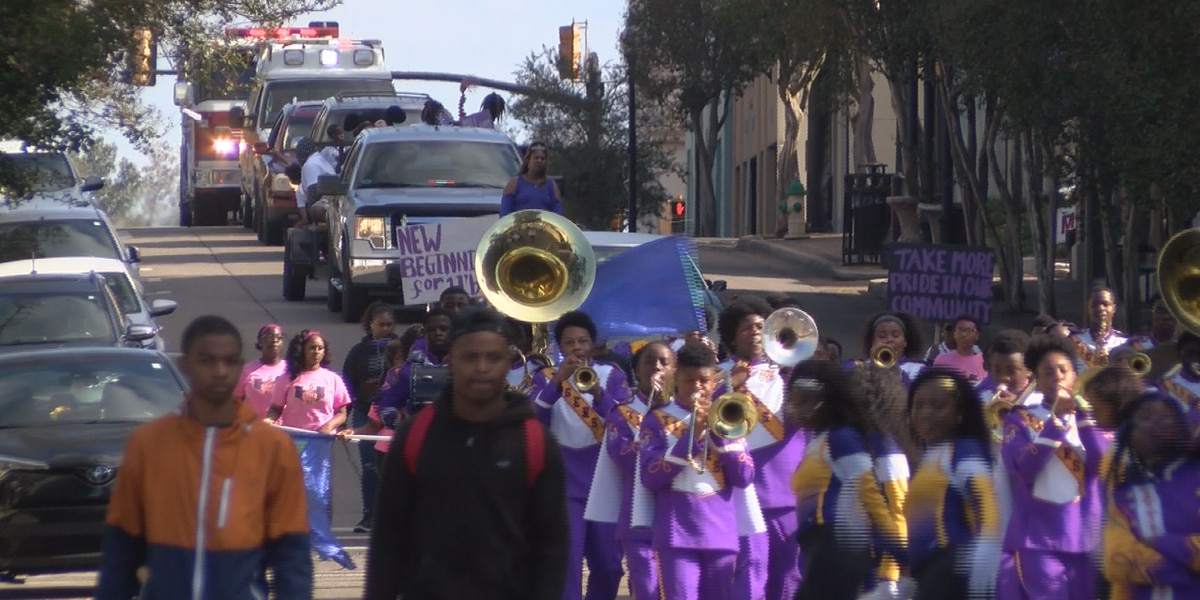 Citizens march against violence in Hattiesburg