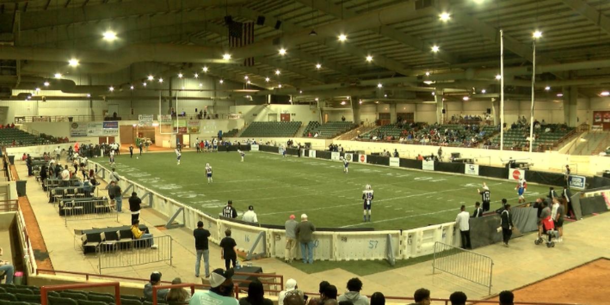 Mississippi Raiders hold inaugural game against Gunslingers Saturday