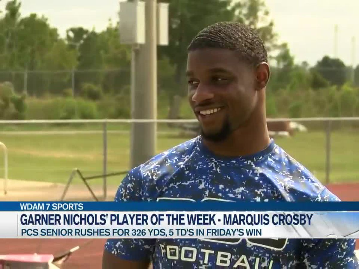 Player of the Week - PCS running back Marquis Crosby