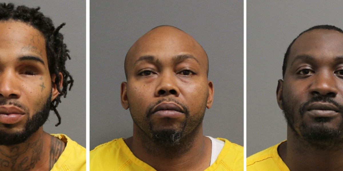 Trio arrested on felony charges in Hattiesburg