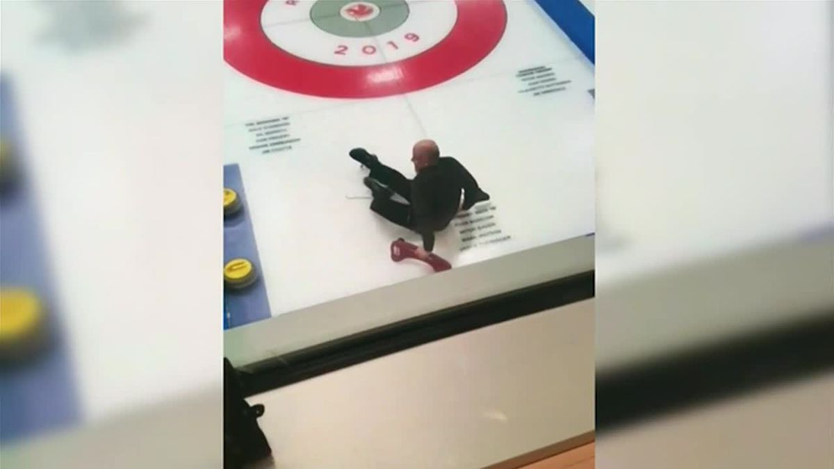 Allegedly drunken and disorderly curling team gets booted from tournament in Canada