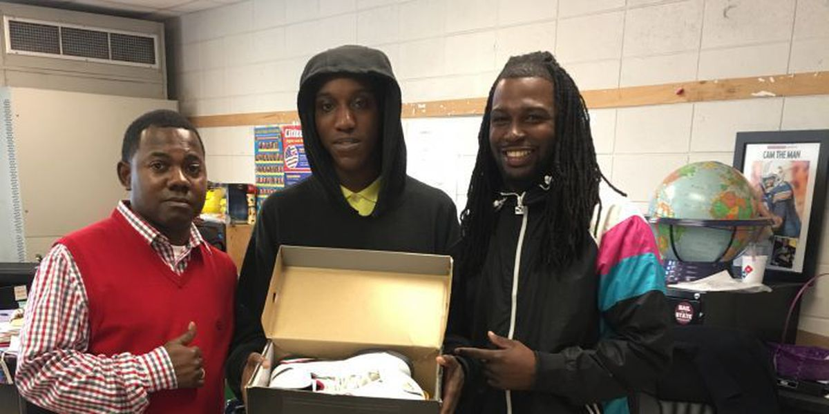 Months-long promise to student kept by good Samaritan