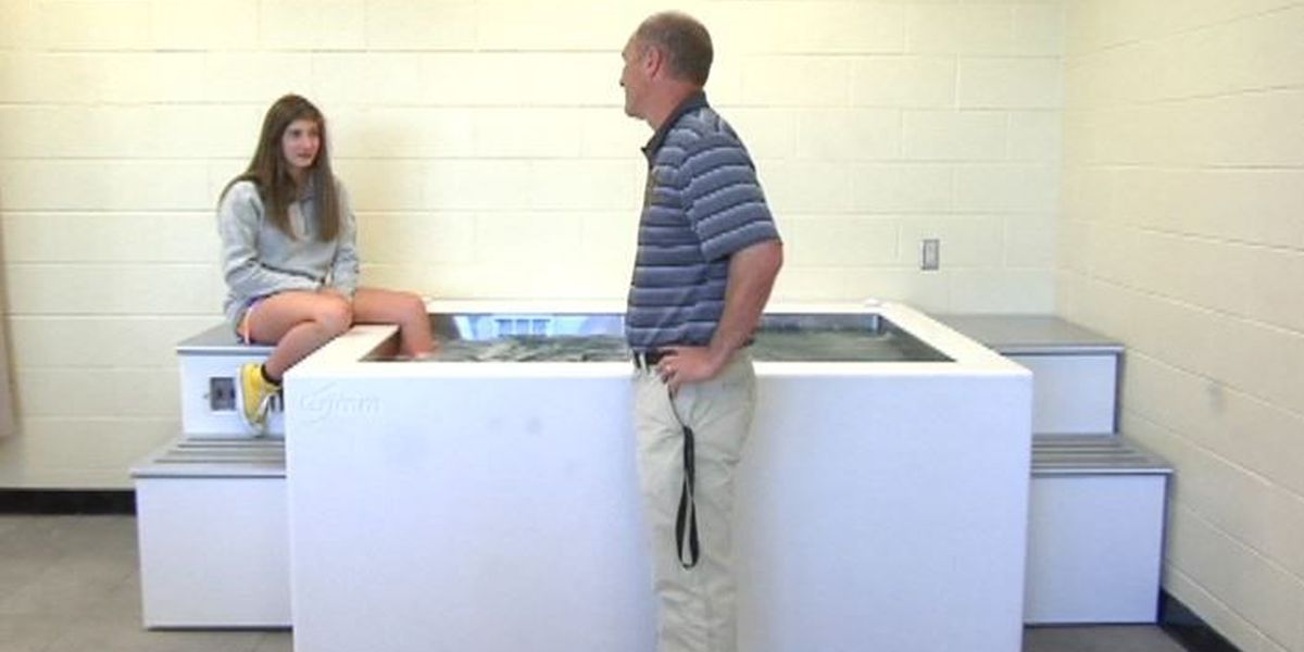 Oak Grove High School receives state of the art therapy equipment