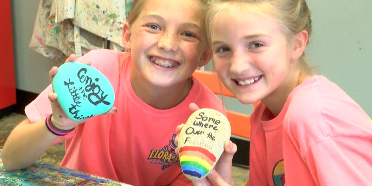 The Kindness Rocks Project takes Hub City