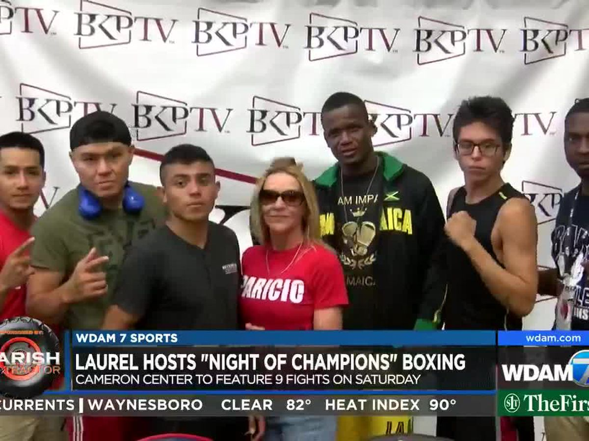 Laurel hosts professional, amateur boxing on Saturday night