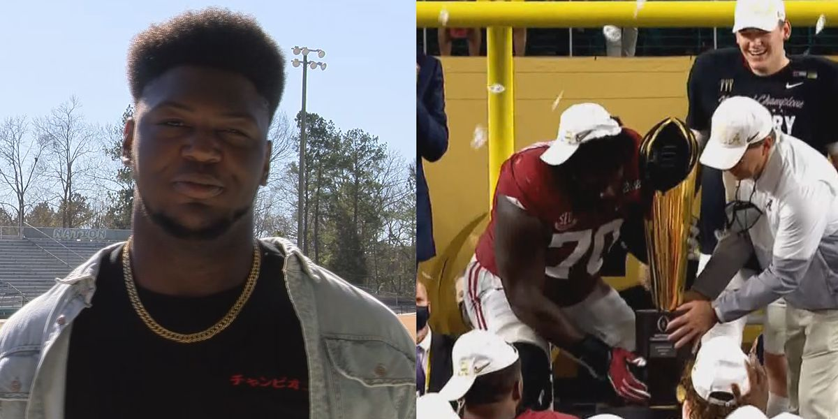 Former West Jones Mustang wins national title with the Crimson Tide