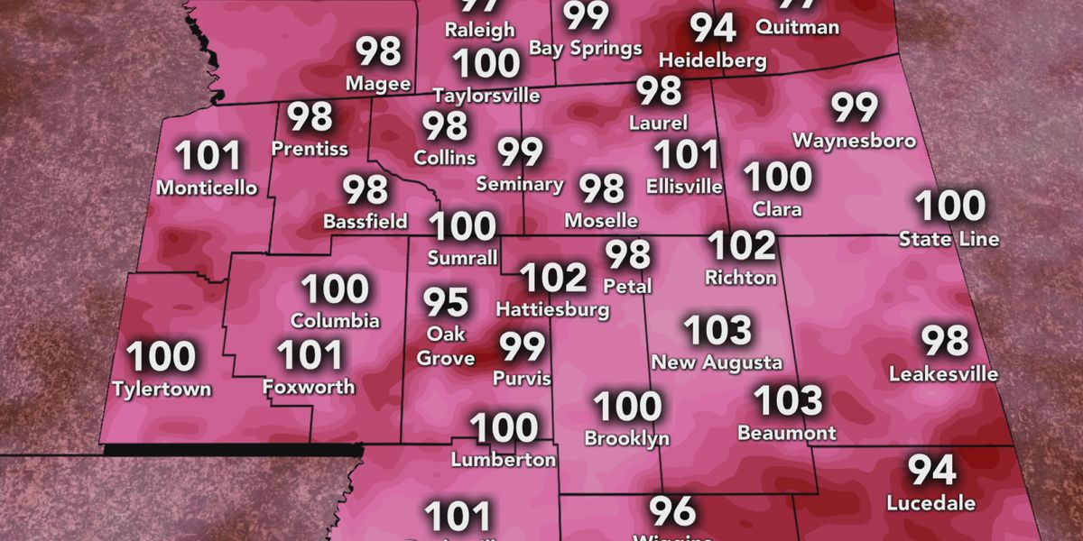 Temperatures on the rise in the Pine Belt