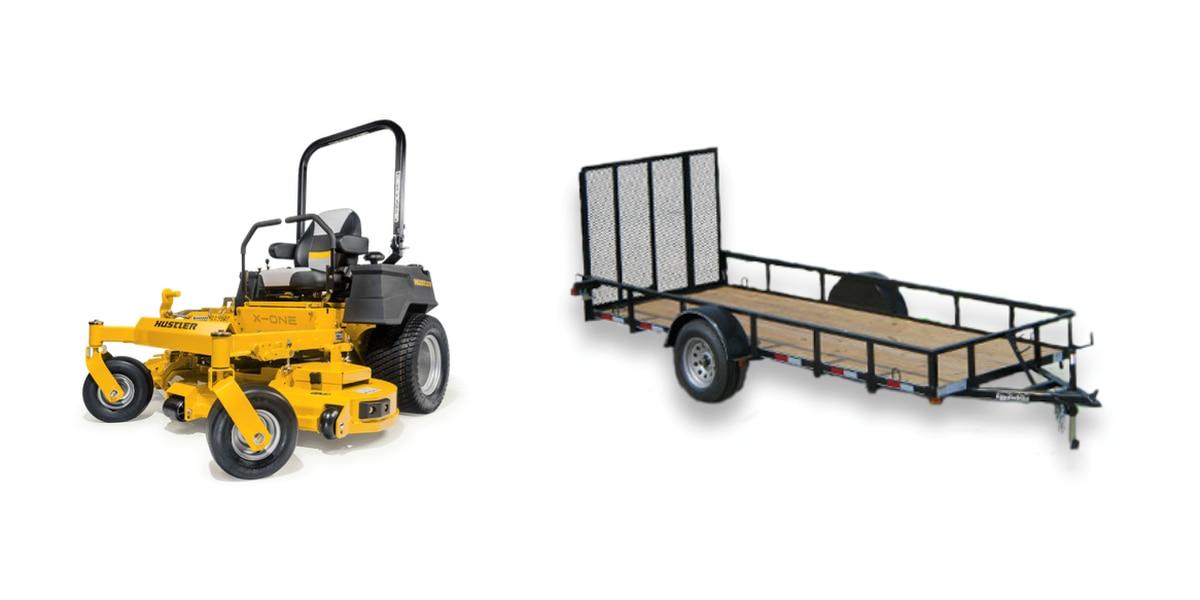 Lawn mowers, trailer stolen from Hattiesburg schools