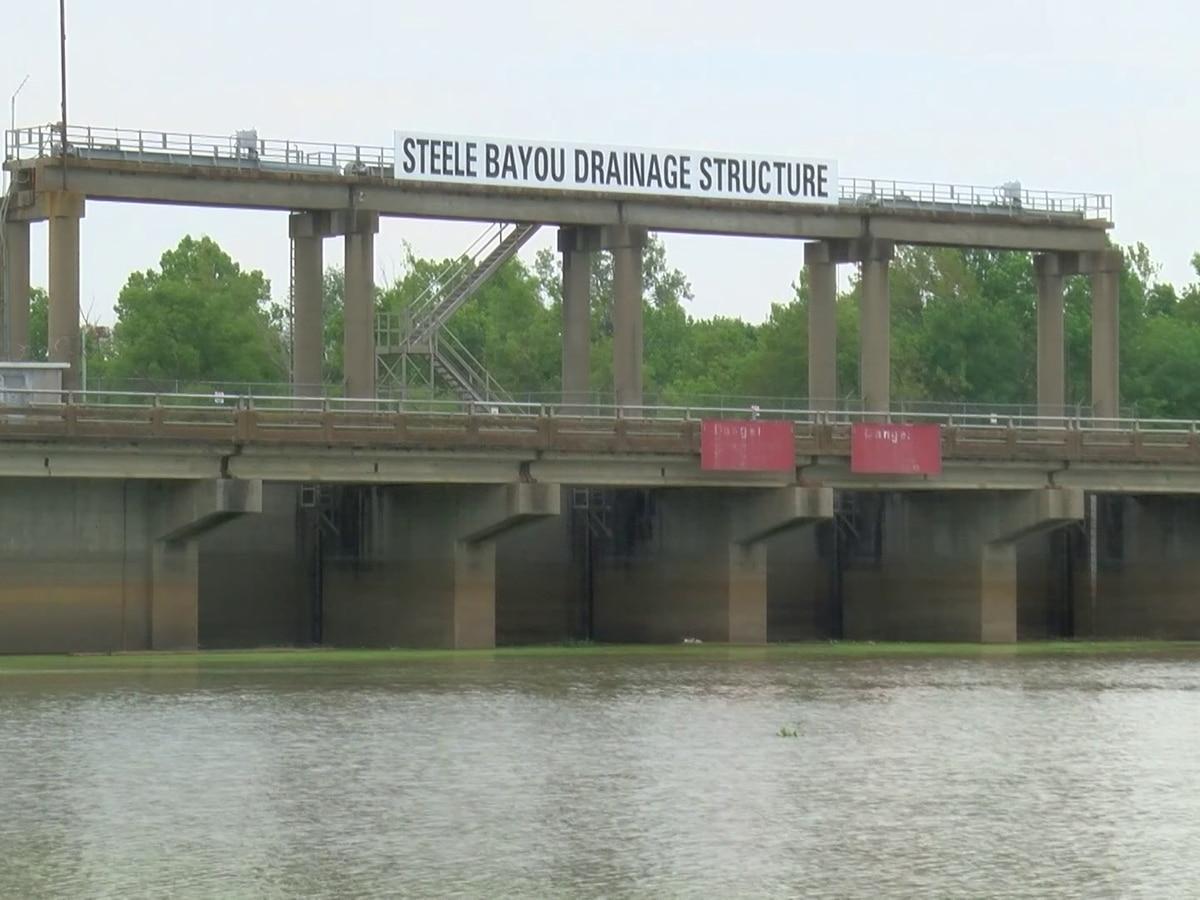 U.S. Corps of Engineers open Steele Bayou gates