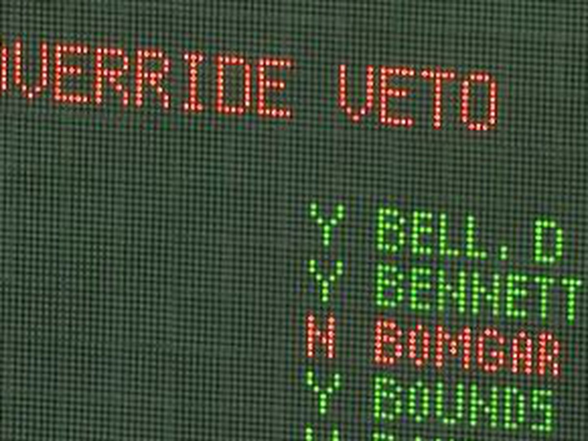 Two senators, two different votes on Gov. Reeves education bill veto