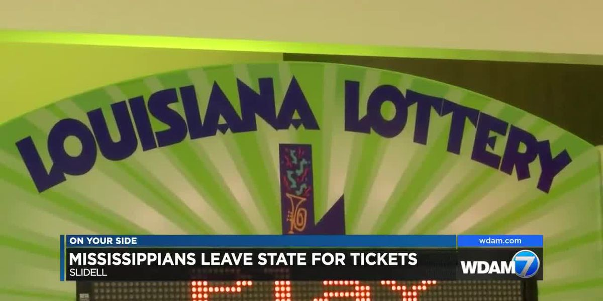 Mississippians head to Louisiana for winning jackpot tickets