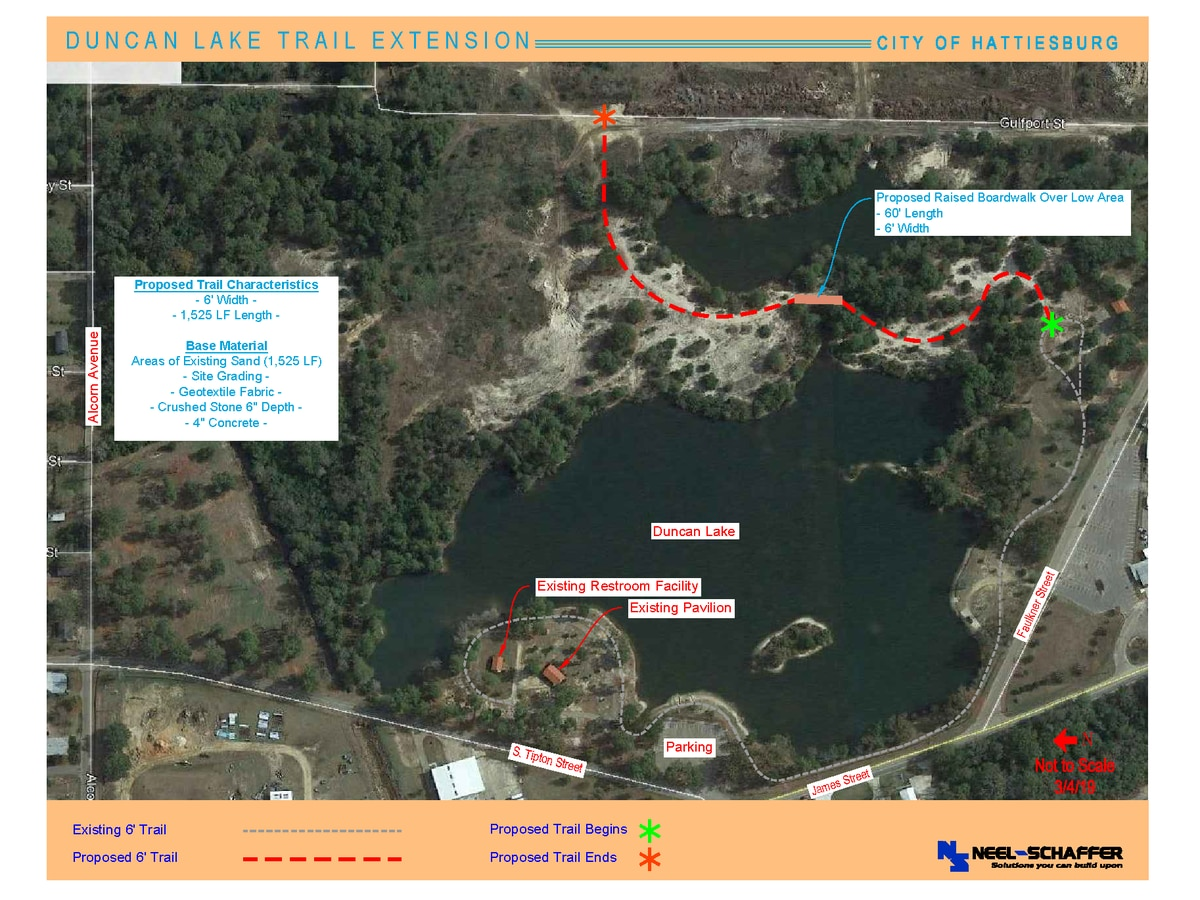 Bid awarded on Duncan Lake trail extension project