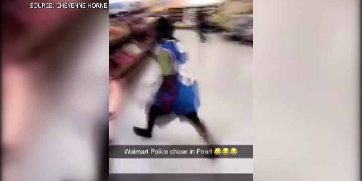 Jewelry thief leaps over fruits and veggies in Walmart while running from police