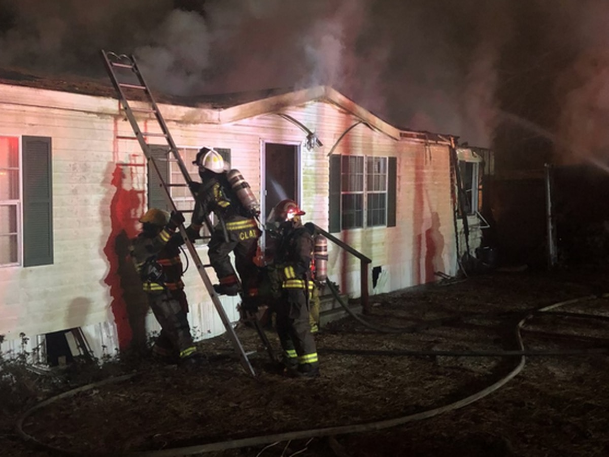 Double-wide sustains 'significant' damage in Jones County fire