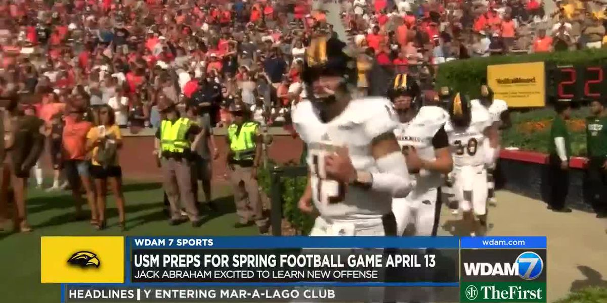 Jack Abraham eager to learn new USM offense