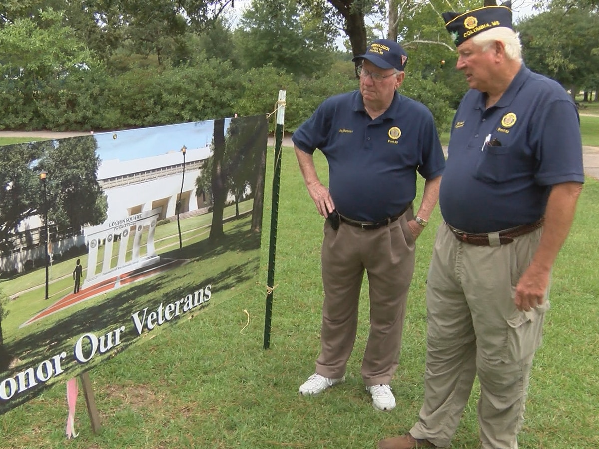 Columbia American Legion Post to break ground for new veterans monument
