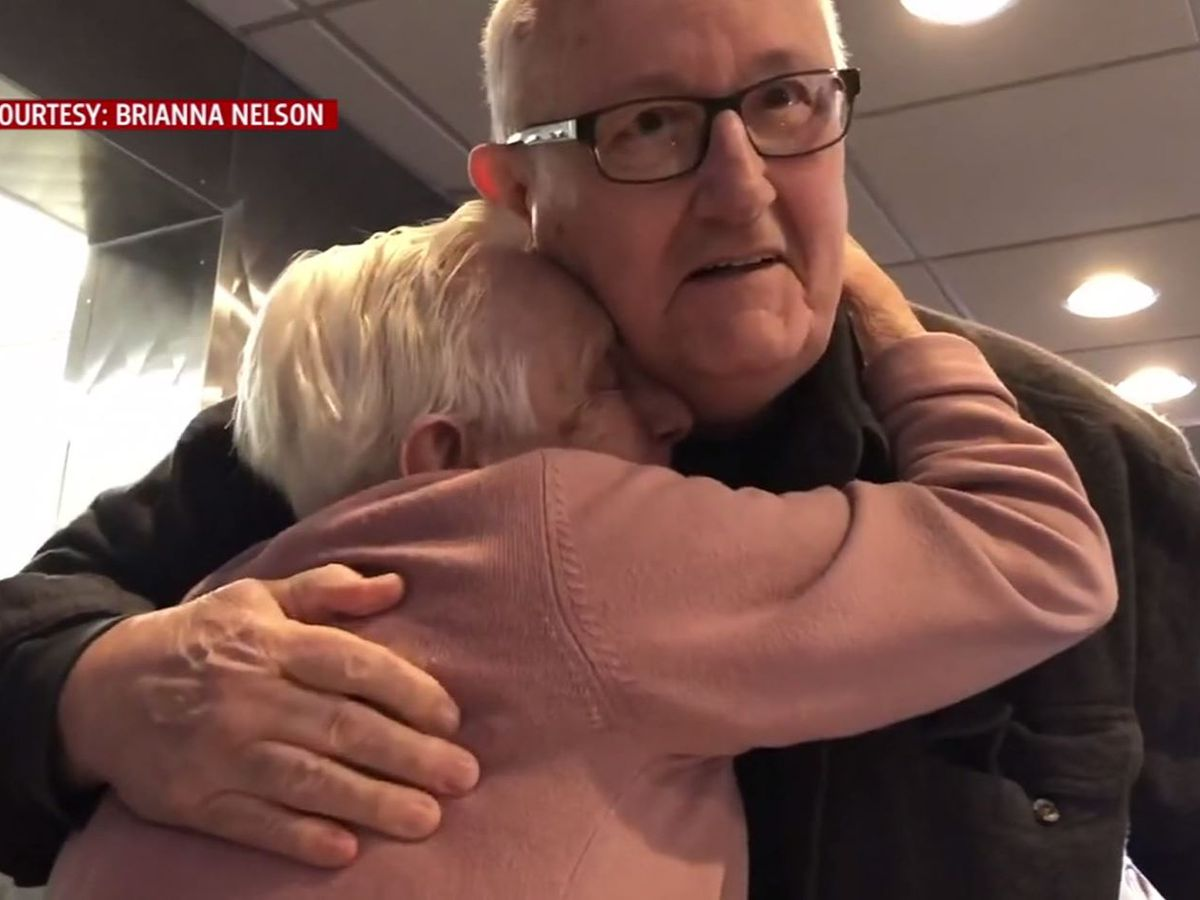 Woman meets brother given up for adoption nearly 80 years ago