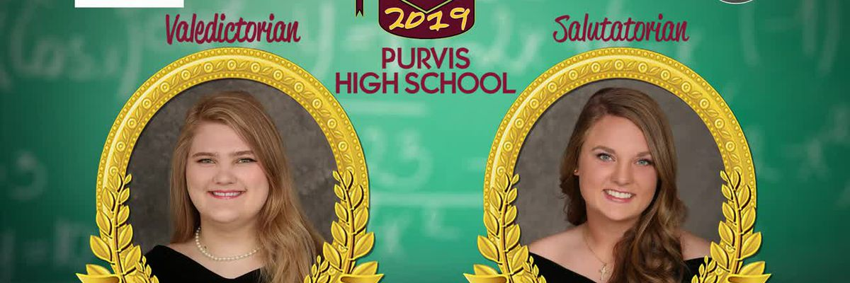 Top of Class 2019: Purvis High School and Sacred Heart Catholic School