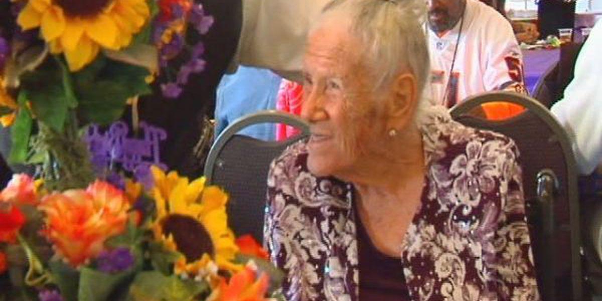 Jones County woman celebrates century of life