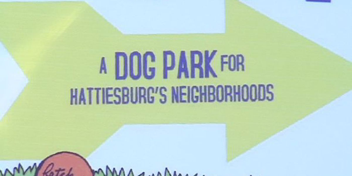 Dog Park to be built in the heart of Hattiesburg