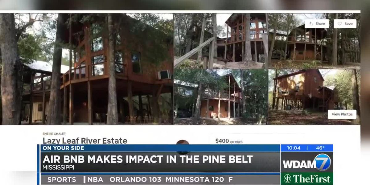 Airbnb makes impact throughout the Pine Belt