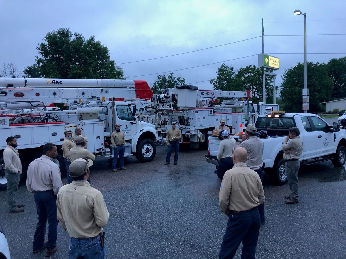 Mississippi Power lending a hand in Pennsylvania