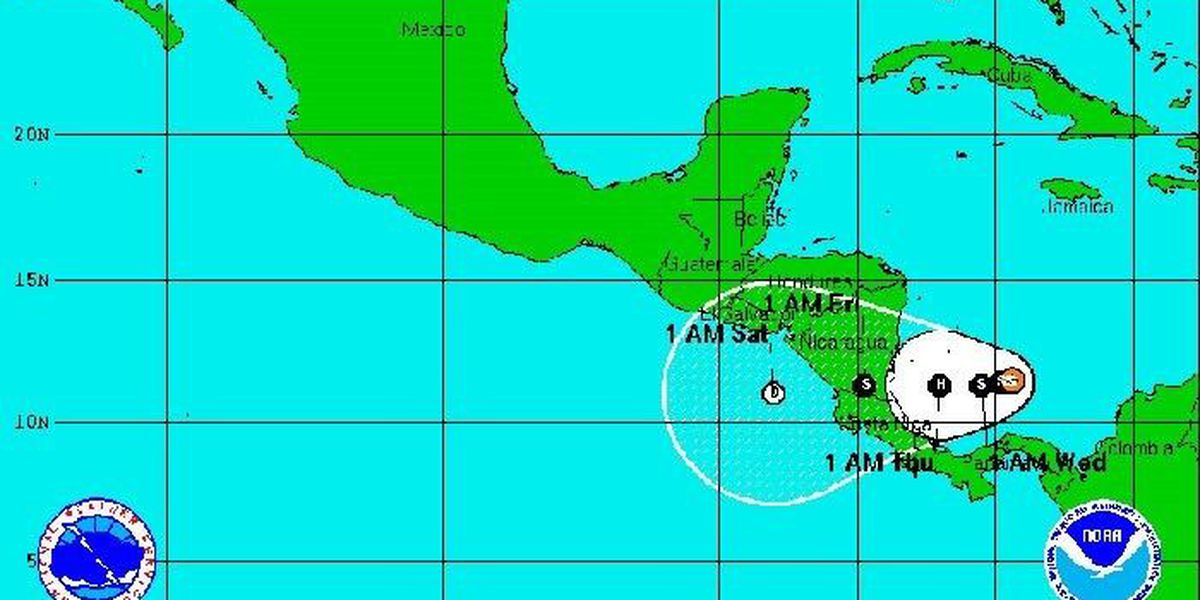 Tropical Storm Otto forms in Caribbean