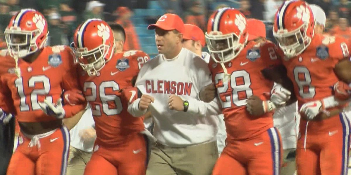 Dabo Swinney makes a visit to Hattiesburg