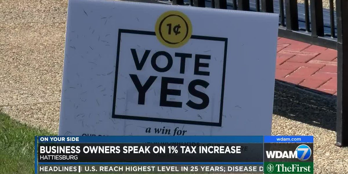 Business owners share mixed feelings on 1% tax increase